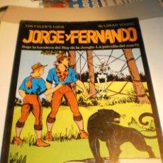 Cómics: JORGE Y FERNANDO. BAJO LA BANDERA DEL REY DE LA JUNGLA. LA PATRULLA DEL MARFIL (BUEN ESTADO). Lote 188682857