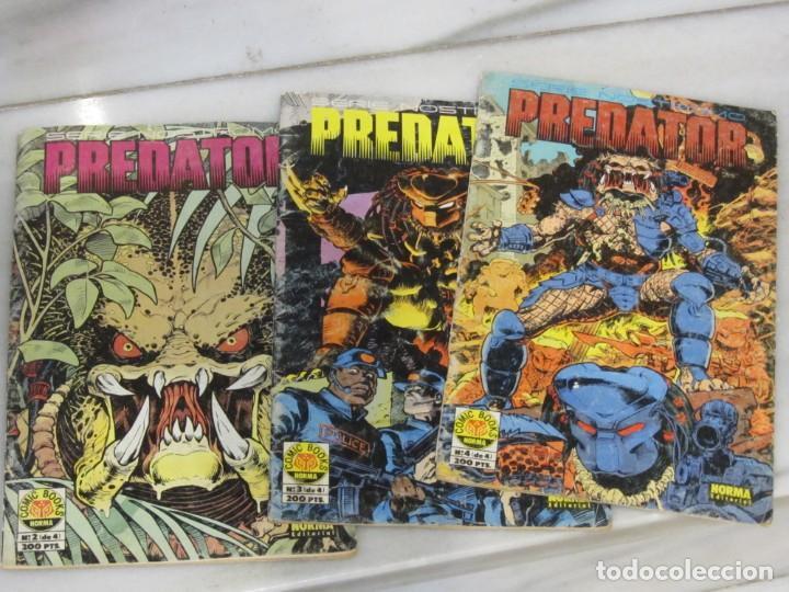 LOTE DE 3 TEBEOS PREDATOR. Nº 2.3 Y 4. AÑO 1991. (Tebeos y Comics - Norma - Otros)