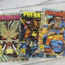 Cómics: LOTE DE 3 TEBEOS PREDATOR. Nº 2.3 Y 4. AÑO 1991.. Lote 188690100