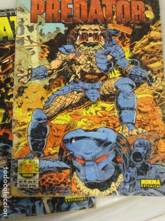 Cómics: Lote de 3 Tebeos Predator. Nº 2.3 y 4. Año 1991. - Foto 2 - 188690100