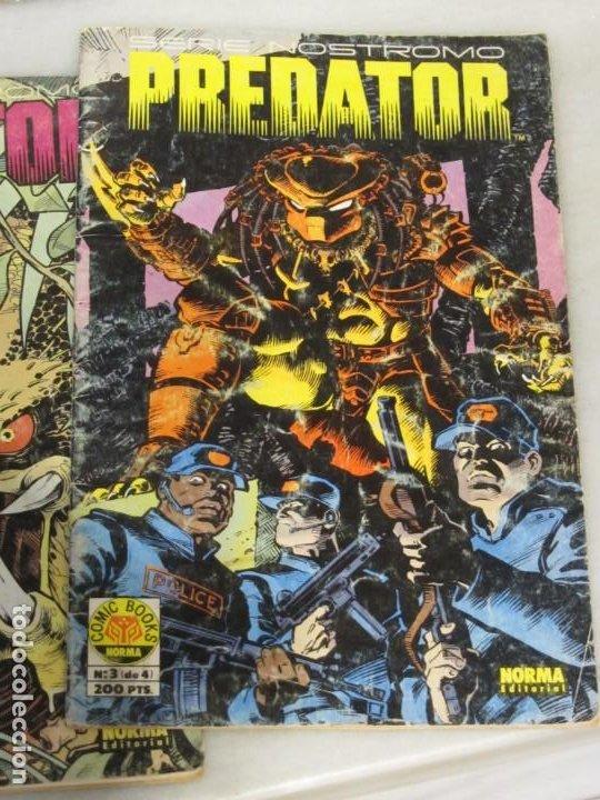 Cómics: Lote de 3 Tebeos Predator. Nº 2.3 y 4. Año 1991. - Foto 4 - 188690100