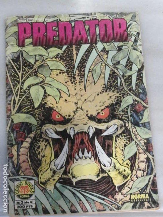 Cómics: Lote de 3 Tebeos Predator. Nº 2.3 y 4. Año 1991. - Foto 5 - 188690100
