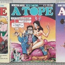 Cómics: COLECCIÓN HUMOR A TOPE. LOTE 3 COMICS (13-22-24). NORMA 1985. Lote 104977983