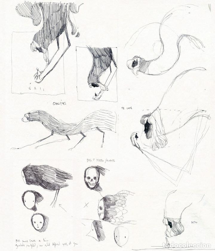 Cómics: Cómics. GRIS. ARTBOOK - Conrad Roset (Cartoné) - Foto 3 - 189205373