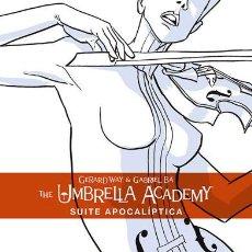 Cómics: CÓMICS. THE UMBRELLA ACADEMY 1. SUITE APOCALÍPTICA - GERARD WAY/GABRIEL BÁ/DAVE STEWART. Lote 189206698
