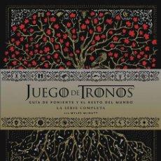 Cómics: CÓMICS. JUEGO DE TRONOS. GUÍA DE PONIENTE Y EL RESTO DEL MUNDO LA SERIE COMPLETA - MCNUTT (CARTONÉ). Lote 189221902