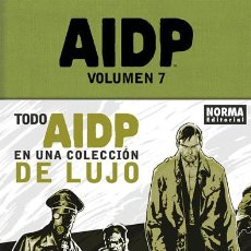Cómics: CÓMICS. AIDP INTEGRAL 07 - MIGNOLA/ARCUDI/ALLIE/CROOK/HARREN/LATOUR/FIUMARA/STEWART (CARTONÉ). Lote 189247438
