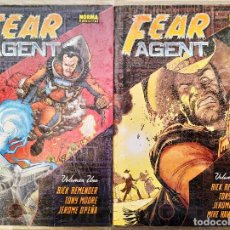 Cómics: FEAR AGENT COMPLETA EN 2 TOMOS CARTONE RICK REMENDER-TONY MOORE-JEROME OPEÑA (1+2) NORMA. Lote 189255203