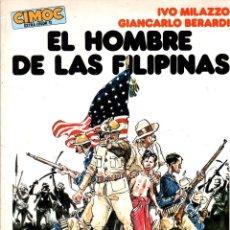 Comics: EL HOMBRE DE LAS FILIPINAS. IVO MILAZZO - GIANCARLO BERARDI. COMIC EXTRA COLOR 11. NORMA 1984. Lote 189732298