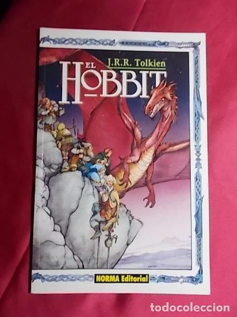 EL HOBBIT. LIBRO TRES DE TRES. NORMA EDITORIAL (Tebeos y Comics - Norma - Comic USA)