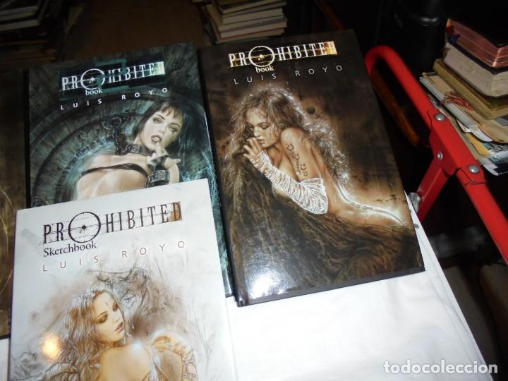 Cómics: PROHIBITED BOOK.LUIS ROYO COMPLETA EN TRES TOMOS + PROHIBITED SKETCHBOOK - Foto 3 - 189898118