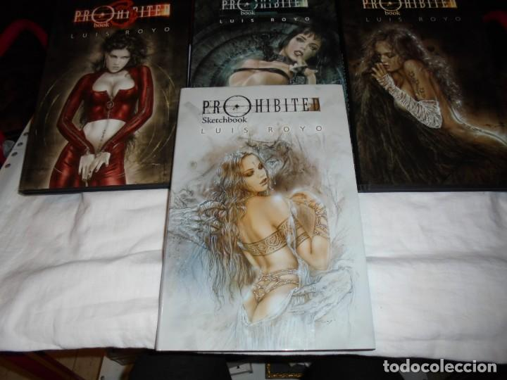 Cómics: PROHIBITED BOOK.LUIS ROYO COMPLETA EN TRES TOMOS + PROHIBITED SKETCHBOOK - Foto 4 - 189898118
