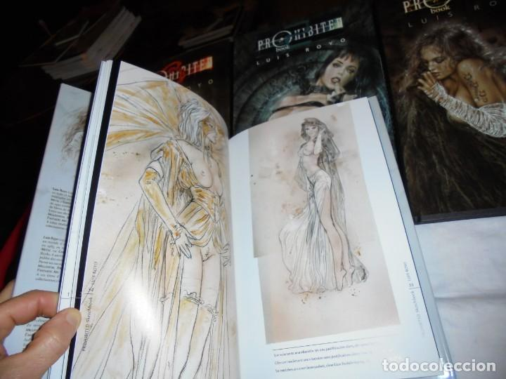 Cómics: PROHIBITED BOOK.LUIS ROYO COMPLETA EN TRES TOMOS + PROHIBITED SKETCHBOOK - Foto 6 - 189898118