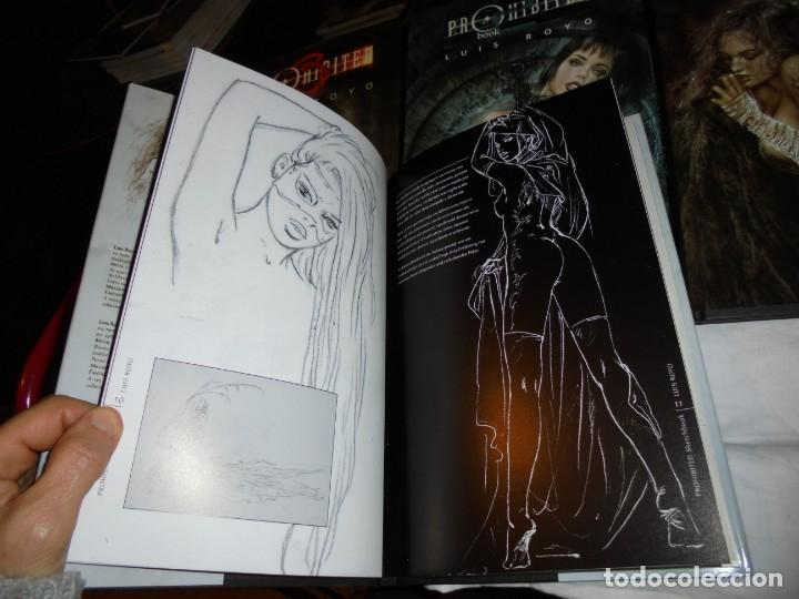 Cómics: PROHIBITED BOOK.LUIS ROYO COMPLETA EN TRES TOMOS + PROHIBITED SKETCHBOOK - Foto 7 - 189898118