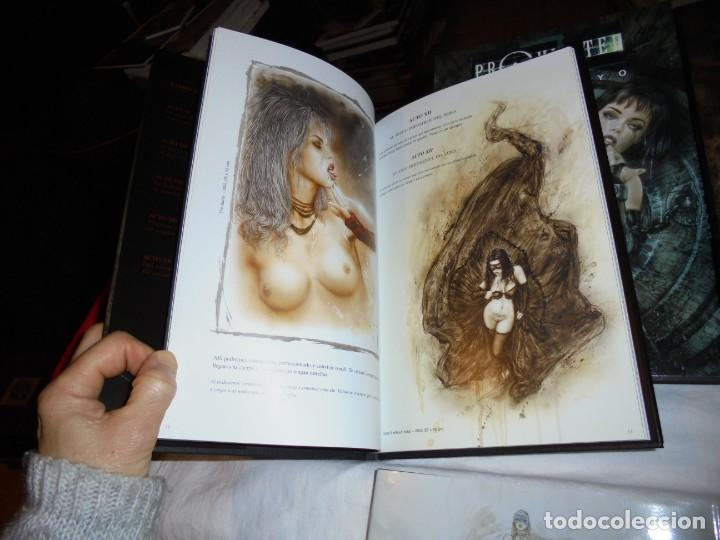 Cómics: PROHIBITED BOOK.LUIS ROYO COMPLETA EN TRES TOMOS + PROHIBITED SKETCHBOOK - Foto 9 - 189898118