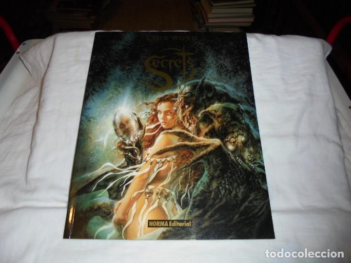 SECRETS.LUIS ROYO.NORMA EDITORIAL.SEXTA EDICION 2002 (Tebeos y Comics - Norma - Comic Europeo)