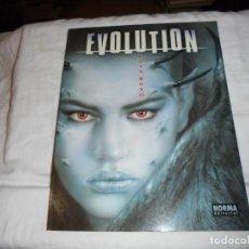 Cómics: EVOLUTION.LUIS ROYO.NORMA EDITORIAPRIMERA EDICION 2001. Lote 189900397