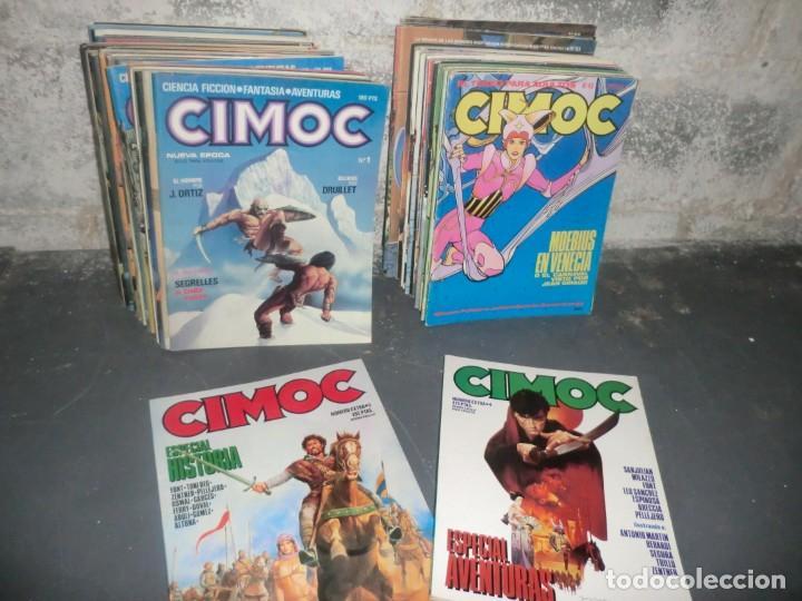 COLECCION CIMOC DE 1 ETAPA,( DEL 1 AL 66 FALTANDO POR EL MEDIO MUY POCOS) (Tebeos y Comics - Norma - Cimoc)