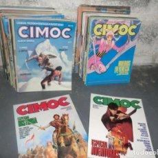 Cómics: COLECCION CIMOC DE 1 ETAPA,( DEL 1 AL 66 FALTANDO POR EL MEDIO MUY POCOS). Lote 190169850