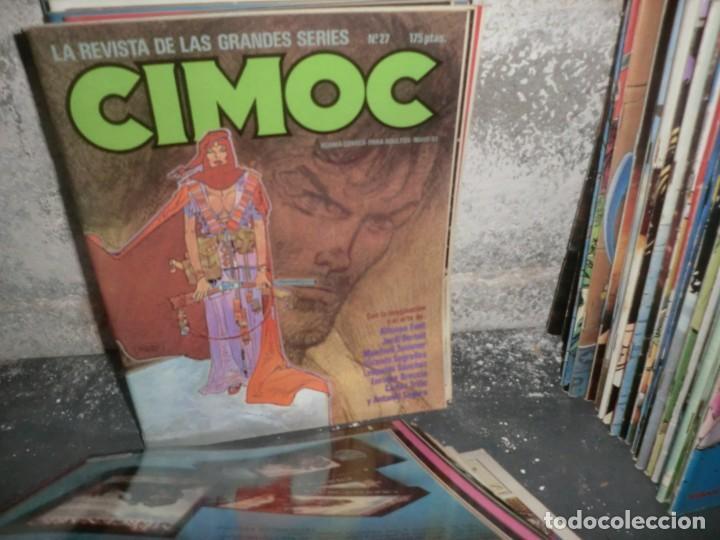 Cómics: COLECCION CIMOC DE 1 ETAPA,( DEL 1 AL 66 FALTANDO POR EL MEDIO MUY POCOS) - Foto 2 - 190169850