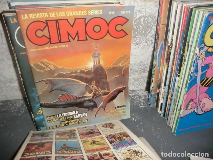 Cómics: COLECCION CIMOC DE 1 ETAPA,( DEL 1 AL 66 FALTANDO POR EL MEDIO MUY POCOS) - Foto 3 - 190169850