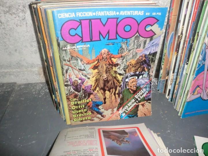 Cómics: COLECCION CIMOC DE 1 ETAPA,( DEL 1 AL 66 FALTANDO POR EL MEDIO MUY POCOS) - Foto 4 - 190169850