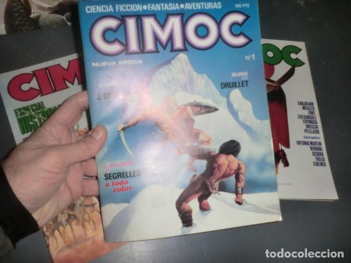 Cómics: COLECCION CIMOC DE 1 ETAPA,( DEL 1 AL 66 FALTANDO POR EL MEDIO MUY POCOS) - Foto 5 - 190169850