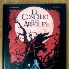 Cómics: EL CONCILIO DE LOS ÁRBOLES (PIERRE BOISSERIE Y NICOLAS BARA)- ED NORMA CARTONÉ 64 PAG. Lote 190332157