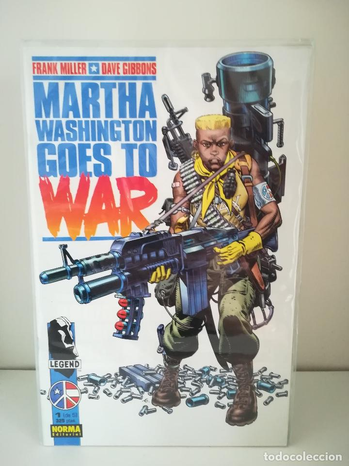 MARTHA WASHINGTON GOES TO WAR Nº 1 FRANK MILLER Y DAVE GIBBONS (Tebeos y Comics - Norma - Comic USA)