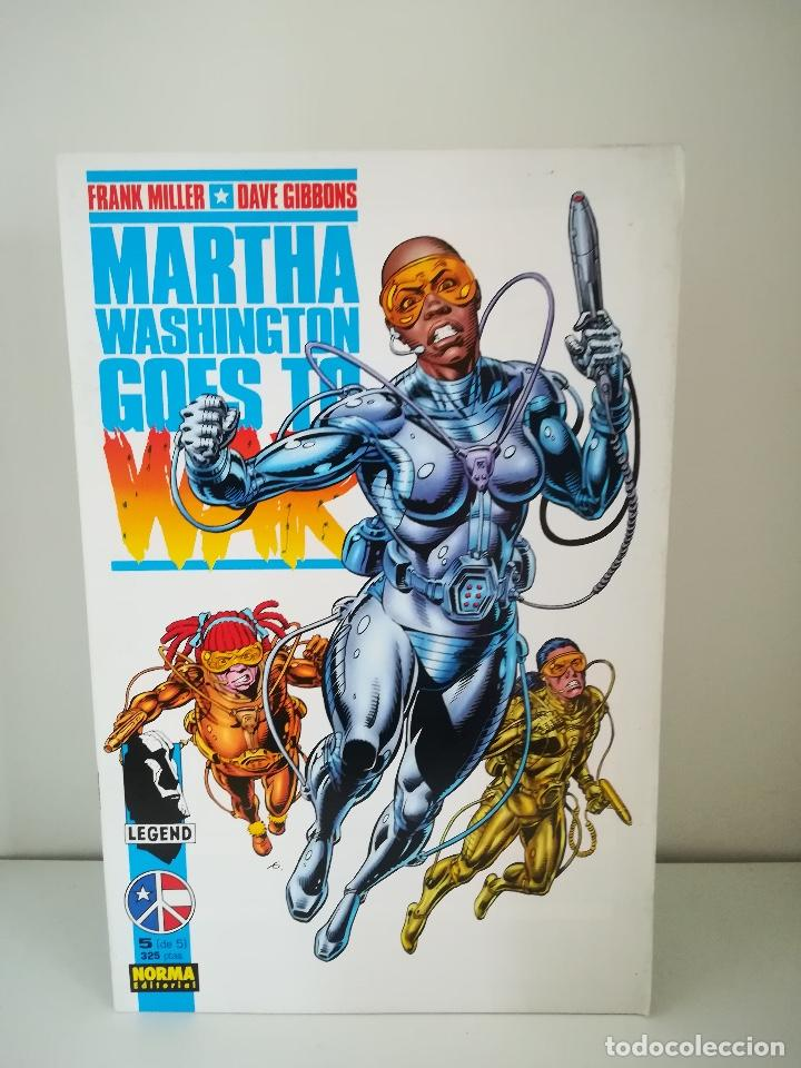 MARTHA WASHINGTON GOES TO WAR Nº 5 FRANK MILLER Y DAVE GIBBONS (Tebeos y Comics - Norma - Comic USA)