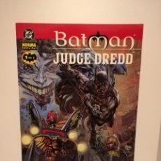 Cómics: BATMAN JUDGE DREDD - MORIR DE RISA Nº 1 DE 2 - DC - NORMA. Lote 190486972