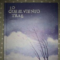 Comics : LO QUE EL VIENTO TRAE JAIME MARTIN BUEN ESTADO. Lote 190568631
