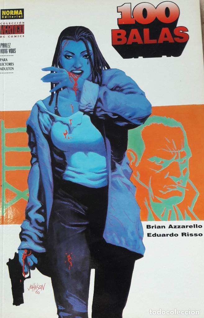 COMIC 100 BALAS PARLEZ KUNG VOUS AZZARELLO Y EDUARDO RISSO NÚMERO ÚNICO. 183. ED. NORMA. (Tebeos y Comics - Norma - Comic USA)