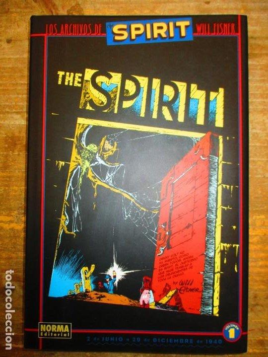 LOS ARCHIVOS DE SPIRIT - VOLUMEN 1 - TOMO TAPA DURA - WILL EISNER - MUY BUEN ESTADO (Tebeos y Comics - Norma - Comic USA)