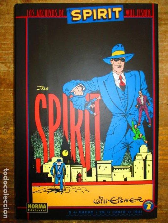 LOS ARCHIVOS DE SPIRIT - VOLUMEN 2 - TOMO TAPA DURA - WILL EISNER - MUY BUEN ESTADO (Tebeos y Comics - Norma - Comic USA)