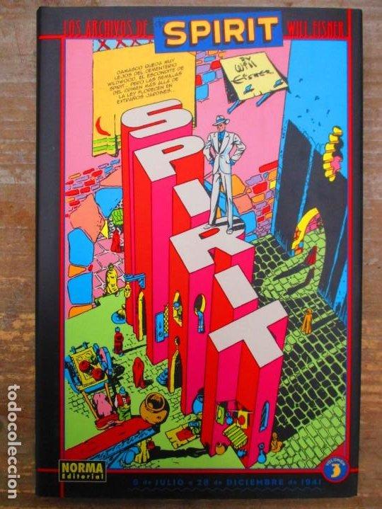LOS ARCHIVOS DE SPIRIT - VOLUMEN 3 - TOMO TAPA DURA - WILL EISNER - MUY BUEN ESTADO (Tebeos y Comics - Norma - Comic USA)