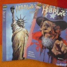 Cómics: HELLBLAZER LLAMAS DE CONDENA 1 AL 2 ¡COMPLETA! ( ENNIS DILLON ) ¡MUY BUEN ESTADO! VERTIGO NORMA. Lote 190796242