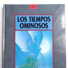 Cómics: LOS TIEMPOS OMINOSOS CAZA NORMA EDITORIAL. Lote 190797016