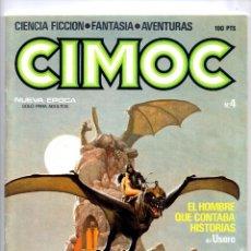 Comics: Nº 4 CIMOC NORMA EDITORIAL (2ª EPOCA ) 1980. Lote 190901247