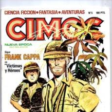 Comics: Nº 5 CIMOC NORMA EDITORIAL (2ª EPOCA ) 1980. Lote 190901272
