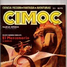 Comics: Nº 6 CIMOC NORMA EDITORIAL (2ª EPOCA ) 1980. Lote 190901333