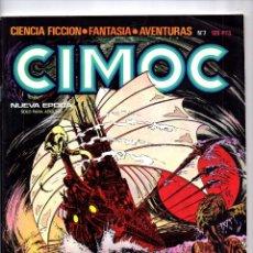 Comics: Nº 7 CIMOC NORMA EDITORIAL (2ª EPOCA ) 1980. Lote 190901390