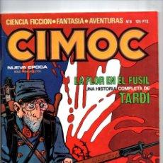 Comics: Nº 8 CIMOC NORMA EDITORIAL (2ª EPOCA ) 1980. Lote 190901532