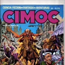 Comics: Nº 9 CIMOC NORMA EDITORIAL (2ª EPOCA ) 1980. Lote 190901581