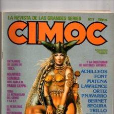 Cómics: Nº 24 CIMOC NORMA EDITORIAL (2ª EPOCA ) 1980. Lote 190905295