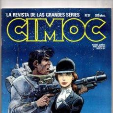 Cómics: Nº 37 CIMOC NORMA EDITORIAL (2ª EPOCA ) 1980. Lote 190905992
