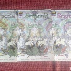 Comics: BRUJERIA NORMA EDITORIAL 3 NUMEROS COMPLETA COLECCION VERTIGO NUEVOS. Lote 191245173
