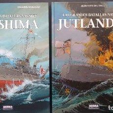 Cómics: TSUSHIMA Y JUTLANDIA. BATALLAS NAVALES. EDITORIAL NORMA. Lote 191262460