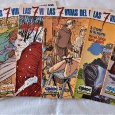Comics: LAS 7 VIDASDEL GAVILAN Nº 54, 61, 67, 84, 89, 93 Y 96 - NORMA EDITORIAL - CIMOC . Lote 191341607