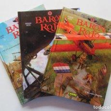 Cómics: EL BARÓN ROJO - 3 TOMOS COMPLETA - VEYS Y PUERTA - NORMA - TAPA DURA - MUY BUENO. Lote 266885484